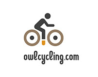 Owl Cycling branding