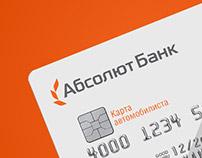 Absolut Bank card design