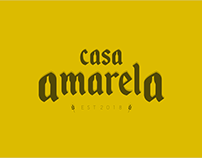 Casa Amarela Bar | Logo e Identidade Visual