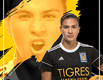 Campaña Pampering Tigres Femenil