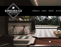 Site Layout - Barbearia S/A