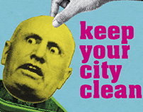 Keep Your City Clean | Small Sticker