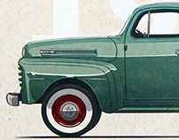 FORD F-150 Heritage Poster and Illustrations