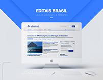 Editais Brasil [Website & Brand]