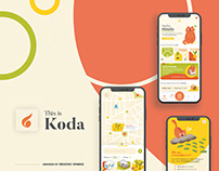 Designflows 2020 - Koda App Concept