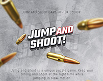 JUMP AND SHOOT GAME UI-UX