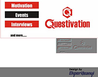 Questivation Logo and Facebook Page Banner design