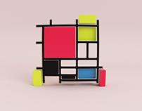 Mondrian 3D