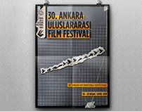 30. Ankara International Film Festival - Poster Design