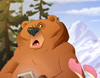 -GRUMPY BEAR-