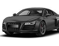 Special Edition R8 in Daytona Gray