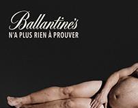 Ballantines, le whisky brutalement honnête