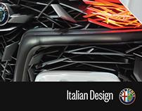 Italian Design, automotive future.