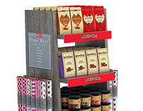 Multi-Product Merchandising Display Render