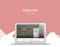 Diatomite Landing Page