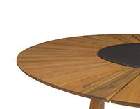 VERANEIO dining table