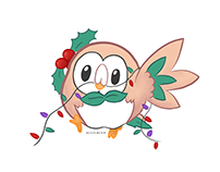 Rowlet [illustration