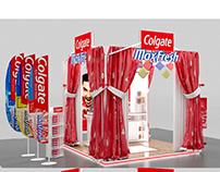colgate max fresh stall freelance