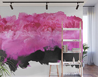 Wall Murals and Wallpaper