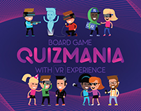 Quizmania. The board game with VR experience