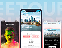 Ourfreetour - iPhone App Design Concept