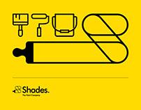 Shades. The Paint Company. Branding