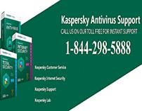 Kaspersky Customer Support Number 1-844-298-5888