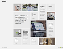 Pasadena - Contemporary Portfolio WordPress Theme for C