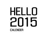 HELLO '15 - Calendar Illustrations