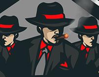 'Malicious Intent' Mascot Logo