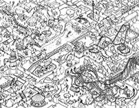 Theme Land (doodle)