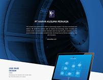 Karya Kusuma Perkasa -  Website Design