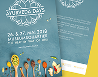 Ayurveda Days 2018 - Brand & Corporate identity