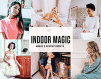 Free Indoor Magic Mobile & Desktop Lightroom Presets