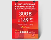 Claro Brasil - Poster