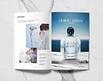 Aqua di gioia product shot (personal project)