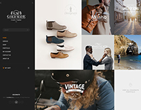 GoldMate Creative PSD template home 4