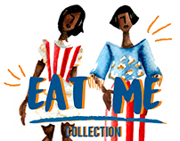Eat me - Fashion illustration