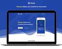 Mizapp - App Landing HTML5 Template