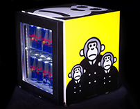 Red Bull Canvas Cooler