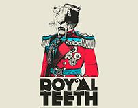 Royal Teeth - Gig Poster - Austin TX