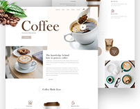 Picup Coffee Landing Page