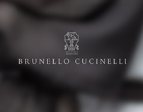 BRUNELLO CUCINELLI – WEBSITE REDESIGN – 2013