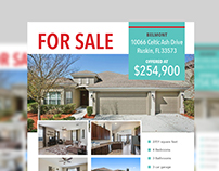 Real Estate - For Sale Flyer