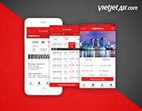 Vietjet Air App Redesign / Trung Kien