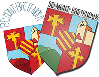 Belmont-Bretenoux - blason communal