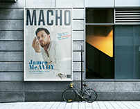 MACHO - The Men's Magazine Concept
