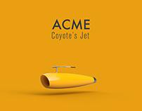 Coyote's Acme Jet