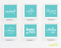 The Mummy Files - Logo Designing