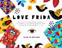 Love Frida - Mexican folk kit